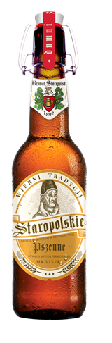 Staropolskie Old Polish Wheat 0,5l fles/Alk 5,2%Eks 12